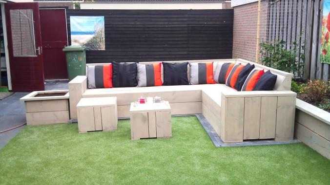 Voorbeelden zelfgemaakte meubels pagina 4 van 8 for Steigerhout loungeset zelf maken