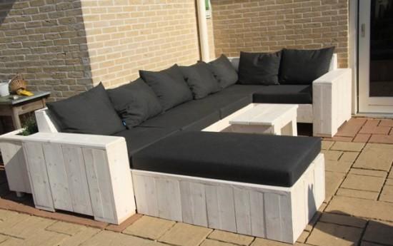 Voorbeelden zelfgemaakte meubels pagina 5 van 8 for Loungeset steigerhout zelf maken