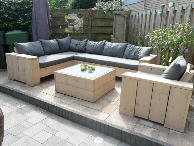 Loungeset steigerhout arie for Steigerhout loungeset zelf maken