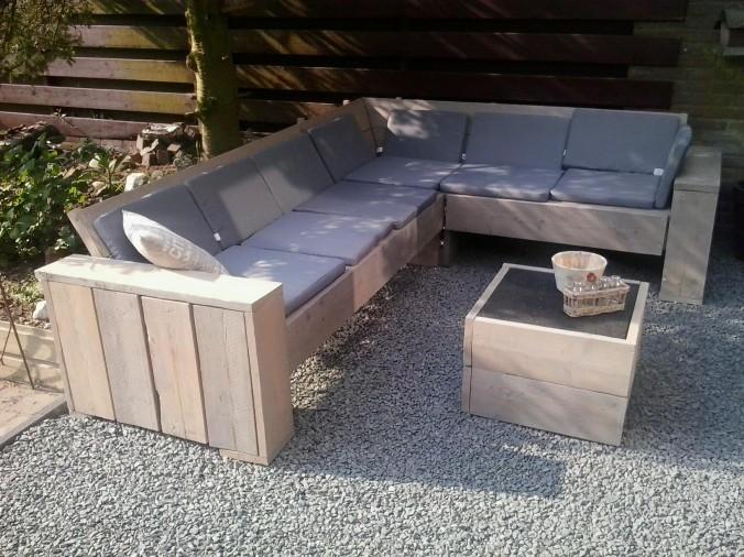 Voorbeelden zelfgemaakte meubels pagina 2 van 8 for Zelf loungeset maken