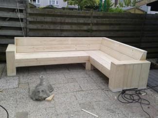 Meubels van steigerhout ik maak het zelf wel bouwtekeningen for Steigerhout loungeset zelf maken