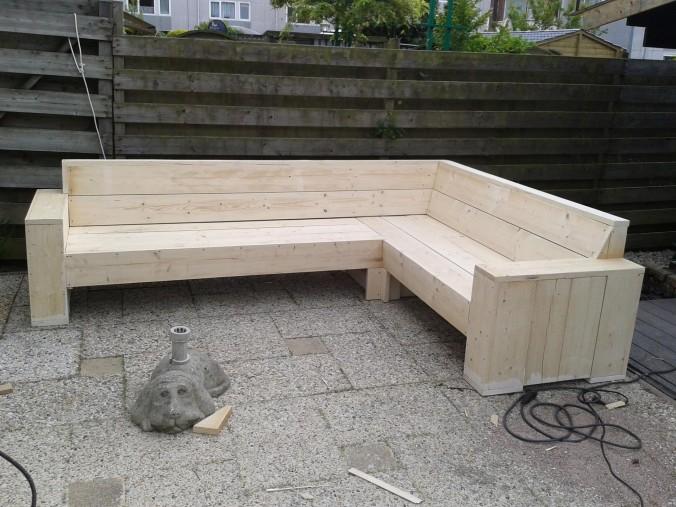 Voorbeelden zelfgemaakte meubels pagina 2 van 8 for Steigerhout loungeset zelf maken