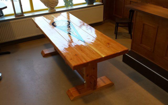 Steigerhouten meubel laten maken for Tafel laten maken