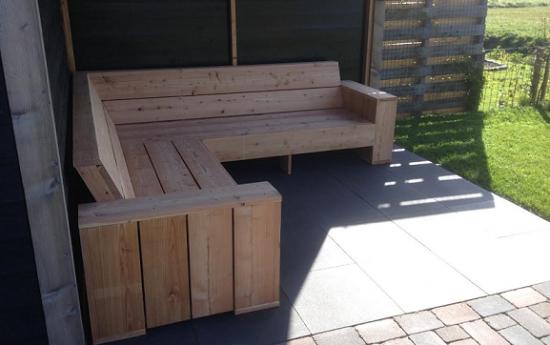 Voorbeelden zelfgemaakte meubels for Zelf meubels maken van hout