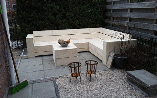Hoek Tv Meubel Steigerhout : Voorbeelden zelfgemaakte meubels ...